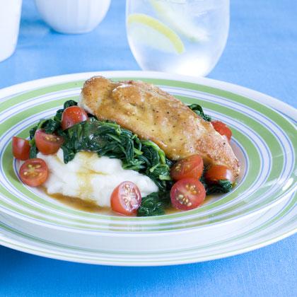 Lemon-Spinach Chicken