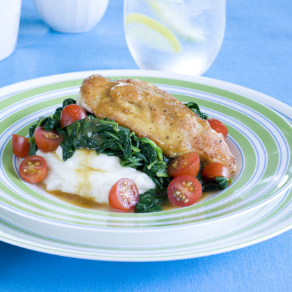 Lemon-Spinach Chicken Recipe