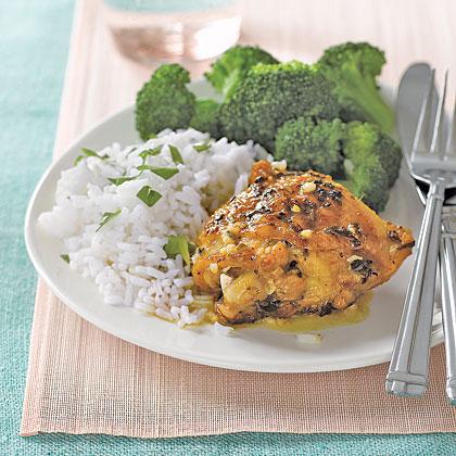 Lemon-Rosemary Chicken Thighs Recipe