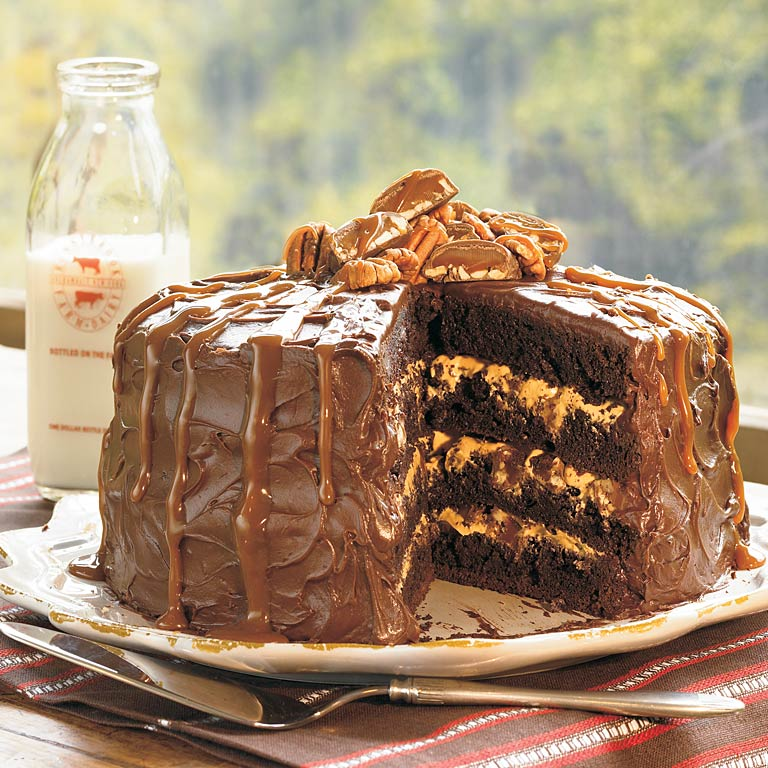 Turtle Caramel Cake Recipe