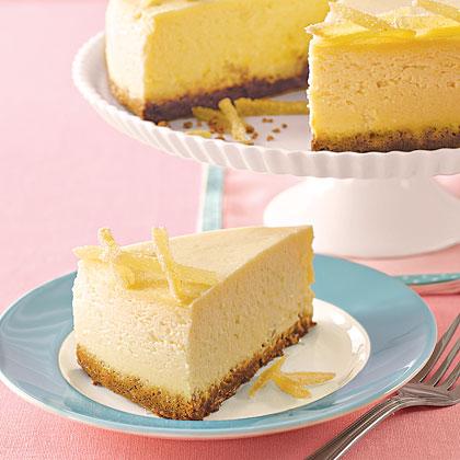 Ginger-Pear Cheesecake