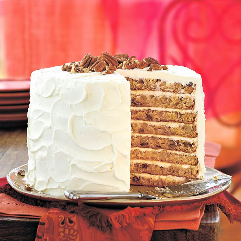 Mile-High White Chocolate Hummingbird Cake Recipe