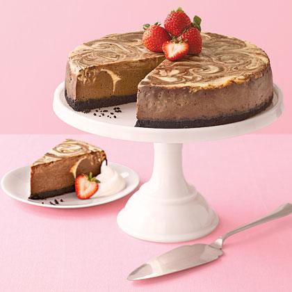 Chocolate Marble CheesecakeRecipe