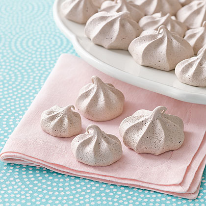 Cocoa-Coffee Meringue Kisses