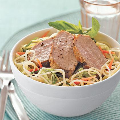 Vietnamese Noodle Salad with PorkRecipe