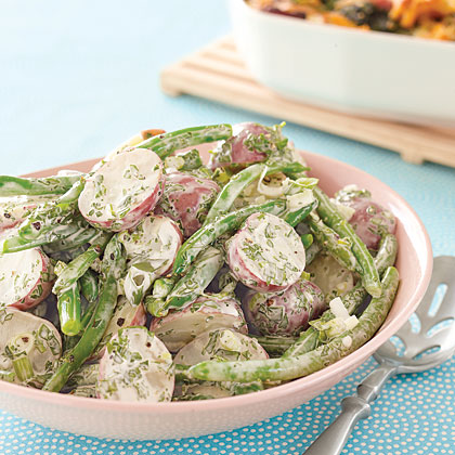 Potato and Green Bean SaladRecipe