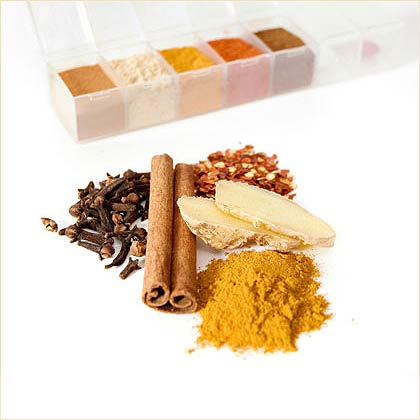 Although fancy-sounding plants such as Echinacea and gingseng often steal the health-food spotlight, many phytonutrient-rich ingredients live right in your kitchen cabinets. Ordinary spices like cinnamon, ginger, and cayenne are loaded with antioxidants and deliver surprising health benefits that range from easing joint pain to fighting cancer. And unlike many herbal remedies, these spices excel in the taste department and are a fat-, sugar-, and salt-free way to flavor your food.