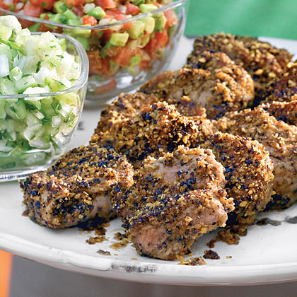 Tortilla-Crusted PorkRecipe
