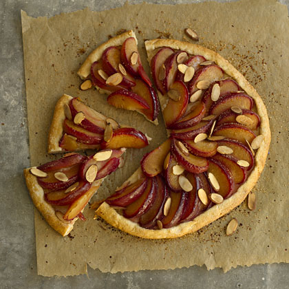 plum-almond-tart
