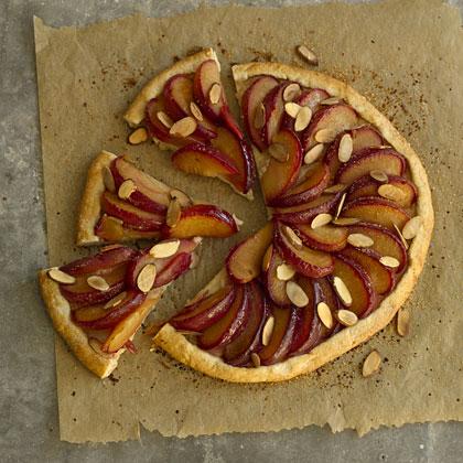 plum-almond-tart Recipe