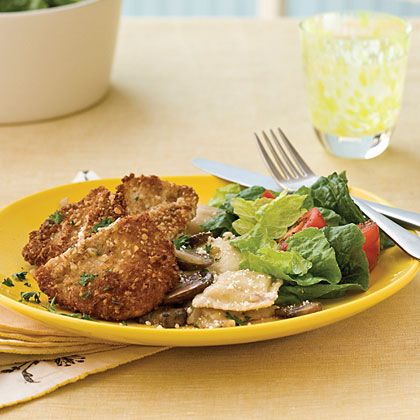 Nutty Turkey Cutlets