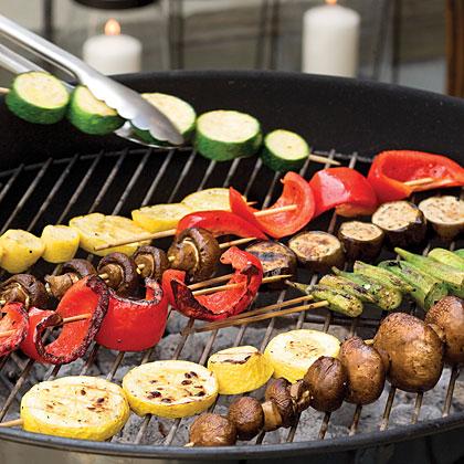 Summer Vegetable Kabobs Recipe Myrecipes