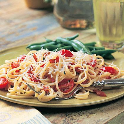 Bacon-Tomato Linguine