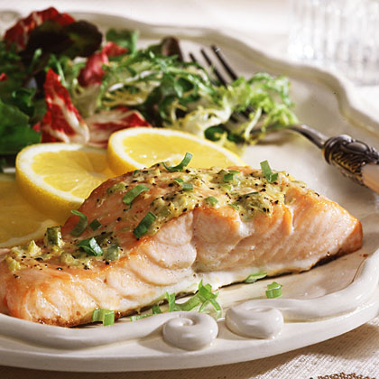 Zesty Baked Salmon Recipe
