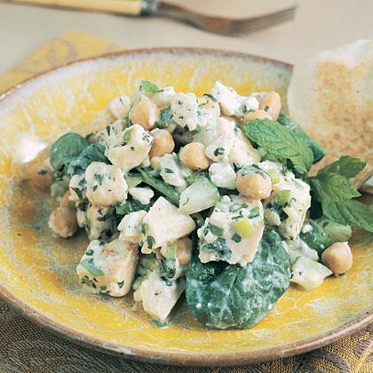 Chicken-Garbanzo Salad
