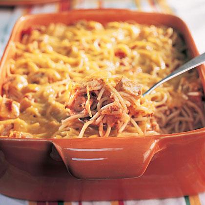 Cheesy Chicken Spaghetti Recipe Myrecipes