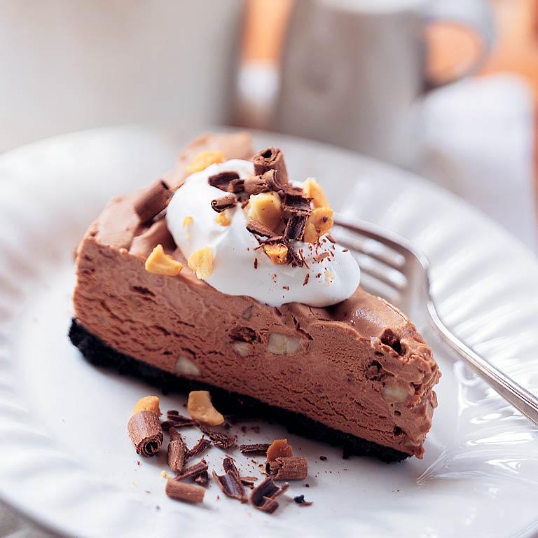 Chocolate-Macadamia Nut PieRecipe