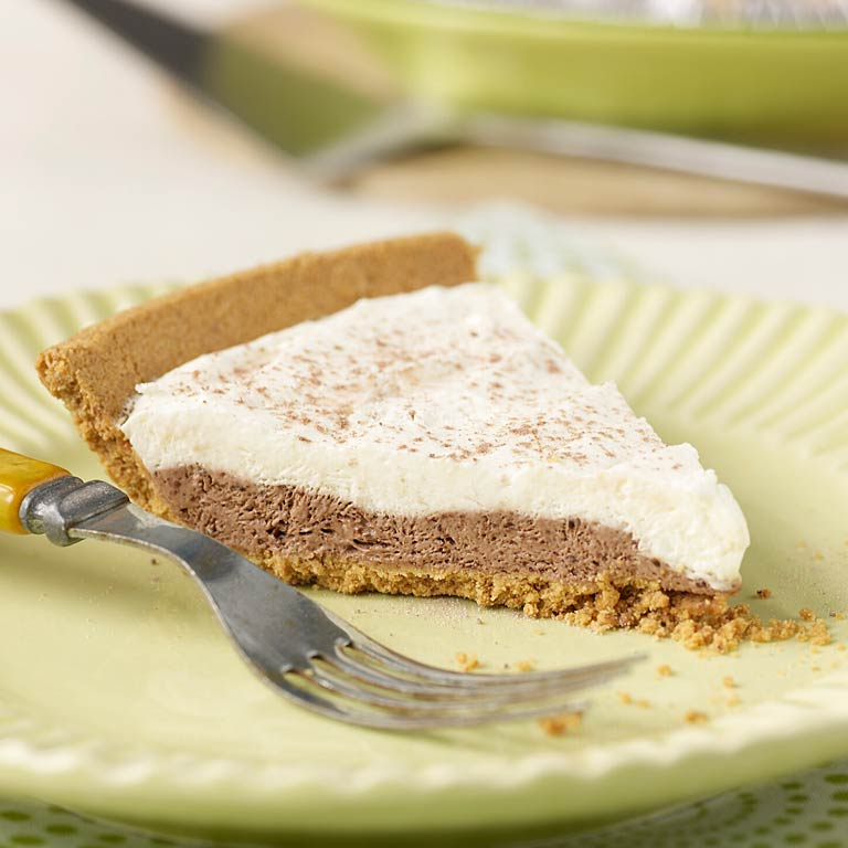Double Chocolate Pudding Pie