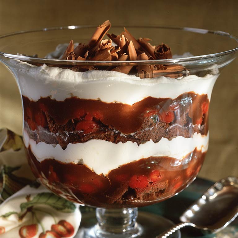 <p>Black Forest Trifle</p>