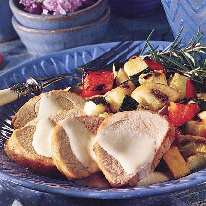 Grilled Tenderloin with Cream Sauce Recipe