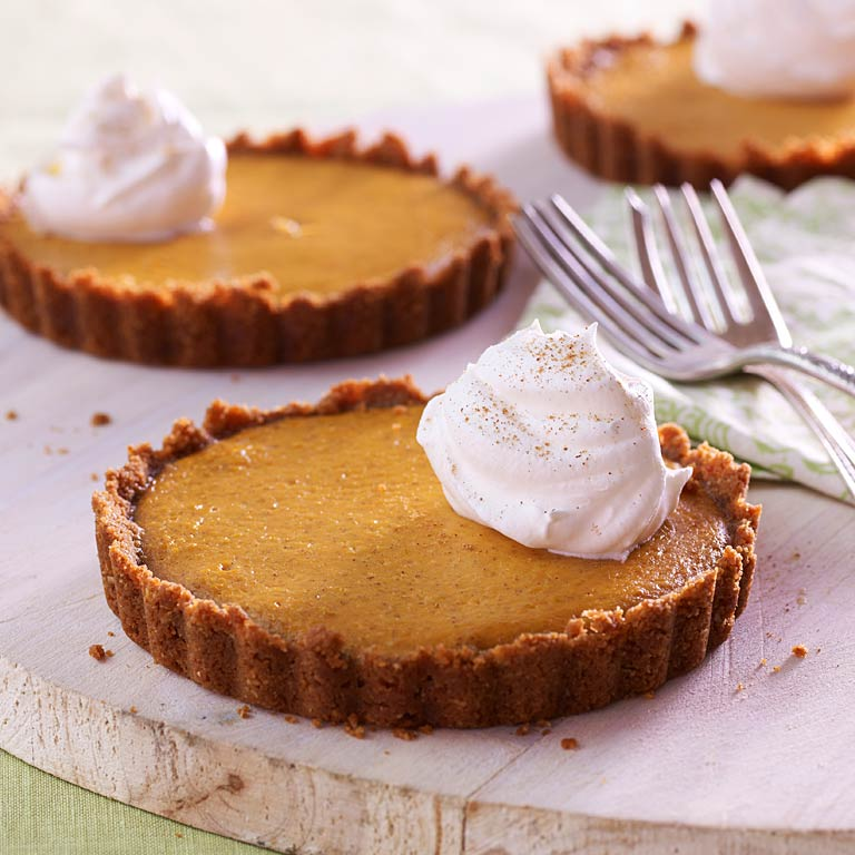 Orange-Pumpkin Tarts Recipe