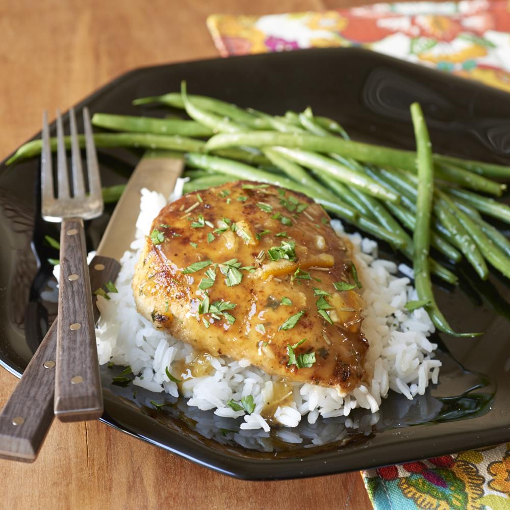 Orange-Sauced Chicken Recipe