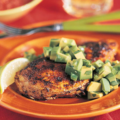 Seared Chicken with Avocado