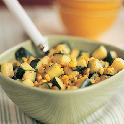 Zucchini with Corn and CilantroRecipe
