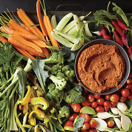 Catalonian Pepper and Nut Sauce (Salsa Romesco)