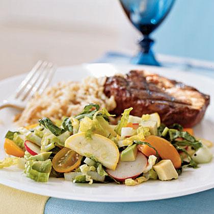 summers best garden salad - Garden Salad Recipe
