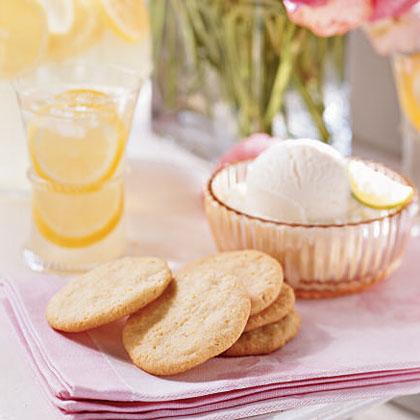 Lemon-Cornmeal CookiesRecipe