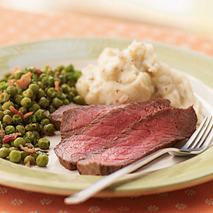 <p>Marinated London Broil</p>