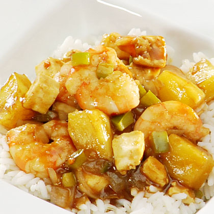 <p>Sweet and Sour Shrimp</p>