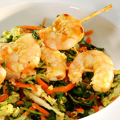 <p>Sesame Shrimp Salad</p>