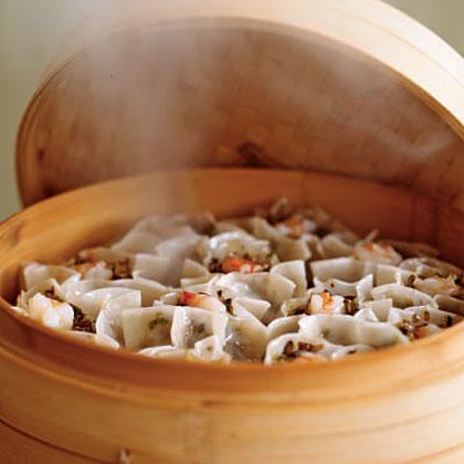 Shrimp and Mushroom Sui Mei