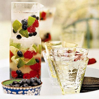 Berry Vodka Spritzers