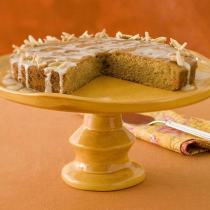 Ginger-Glazed Carrot Cake Recipe