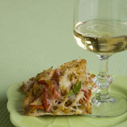 Italian-Style Chicken Tostadas