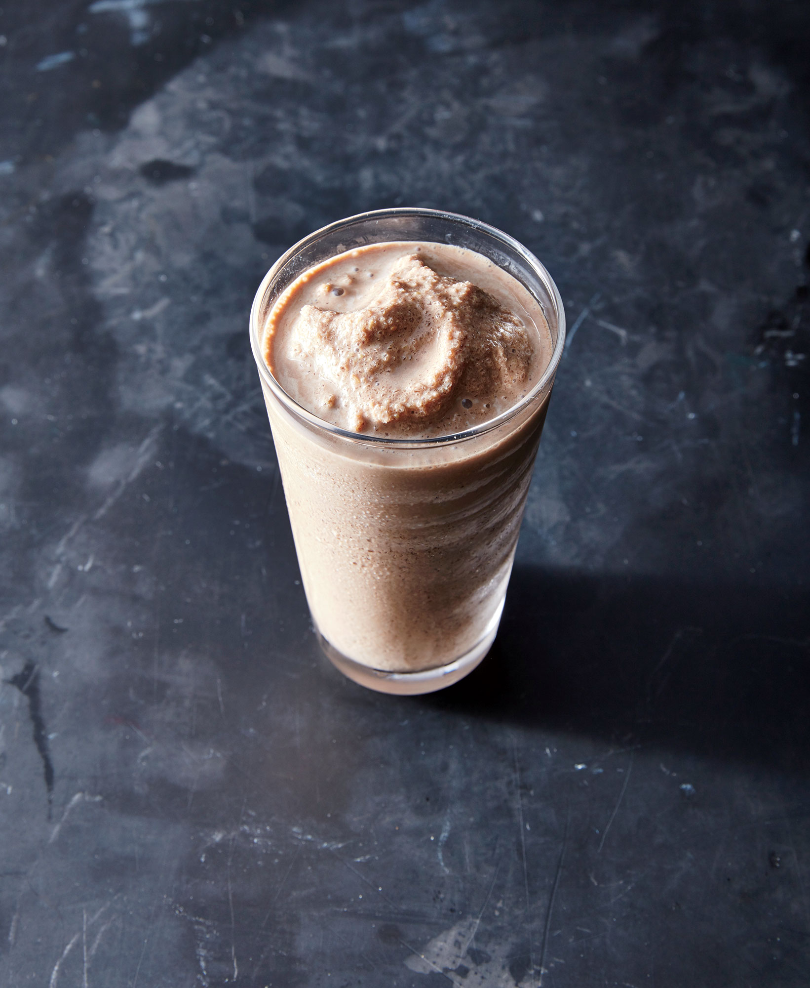 cl- mocha flax smoothie