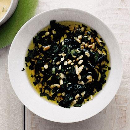 Parsley and Pine Nut Salsa Recipe
