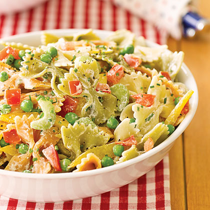 Garden Pasta Salad Recipe | MyRecipes