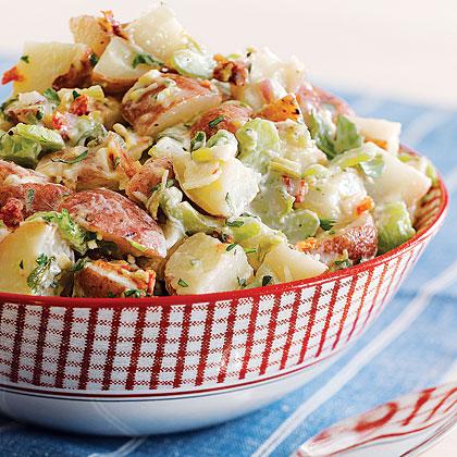 Savory Potato SaladRecipe