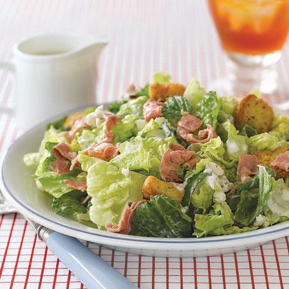 Roast Beef and Romaine Salad