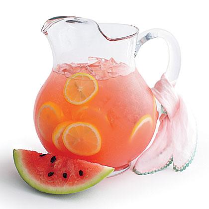 Watermelon Lemonade Recipe | MyRecipes.com