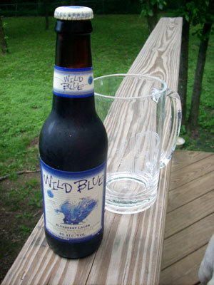 """Wild Blue"" Blueberry Lager"