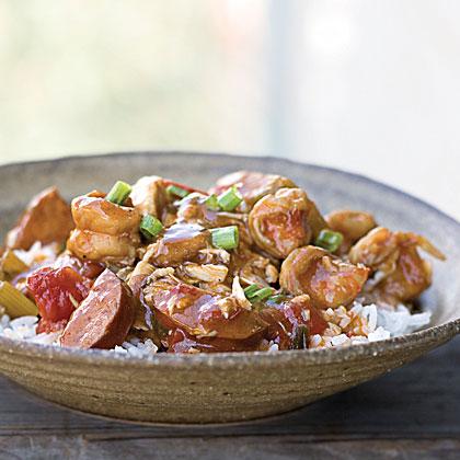 Shrimp-and-Sausage StewRecipe