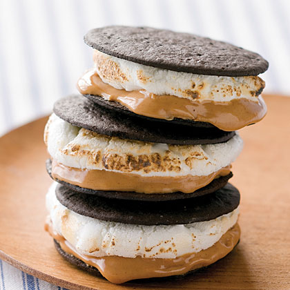 Chocolate and Peanut Butter S'mores
