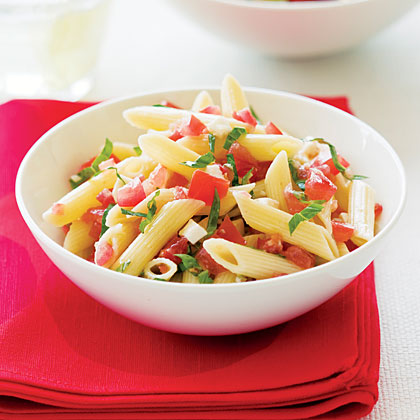 Fresh Tomato and Basil Pasta