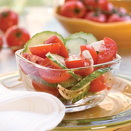 Tomato-Cucumber SaladRecipe