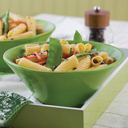 Lemon Veggies and Pasta Recipe